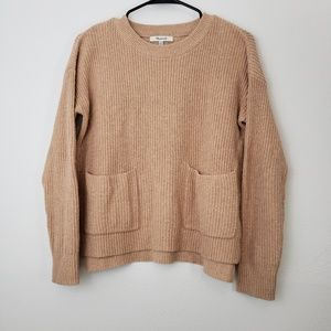Madewell Chunky Crew Neck Sweater